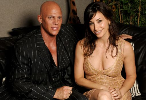 Johnny Brenden with Actress Gina Gershon (Showgirls)