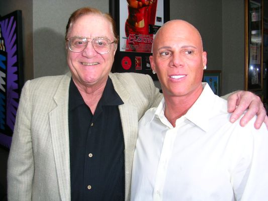Johnny Brenden with Comedian Pat Cooper