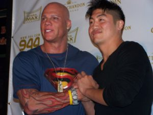Johnny Brenden and Brian Tee