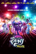 "Poster for the movie ""My Little Pony: The Movie"""