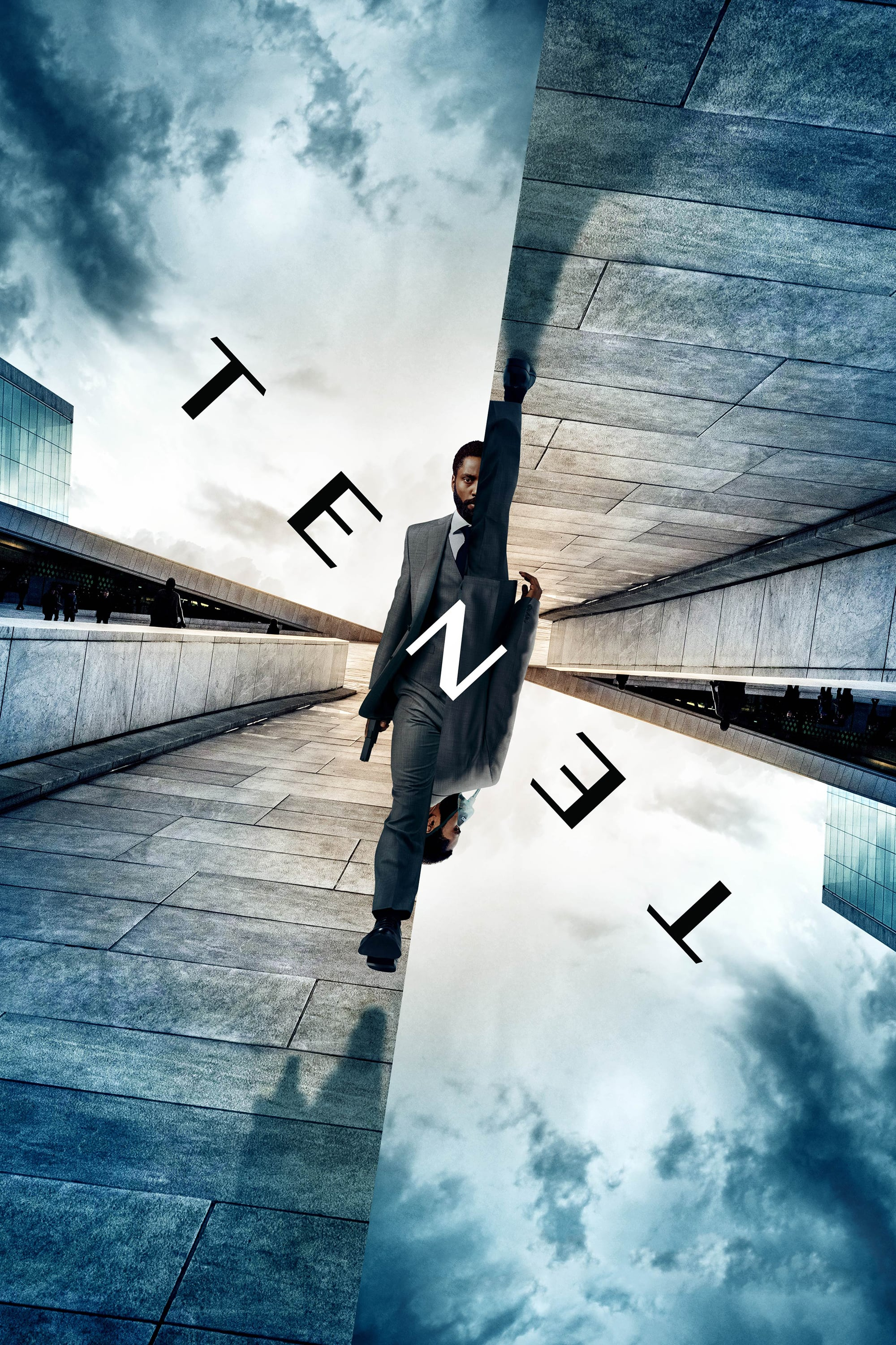 "Poster for the movie ""Tenet"""